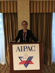 Advocating for Jewish homeland at AIPAC training